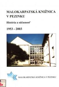 Malokarpatská knižnica v Pezinku