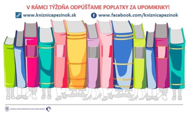 Týždeň slovenských knižníc 13. - 18. 3. 2017