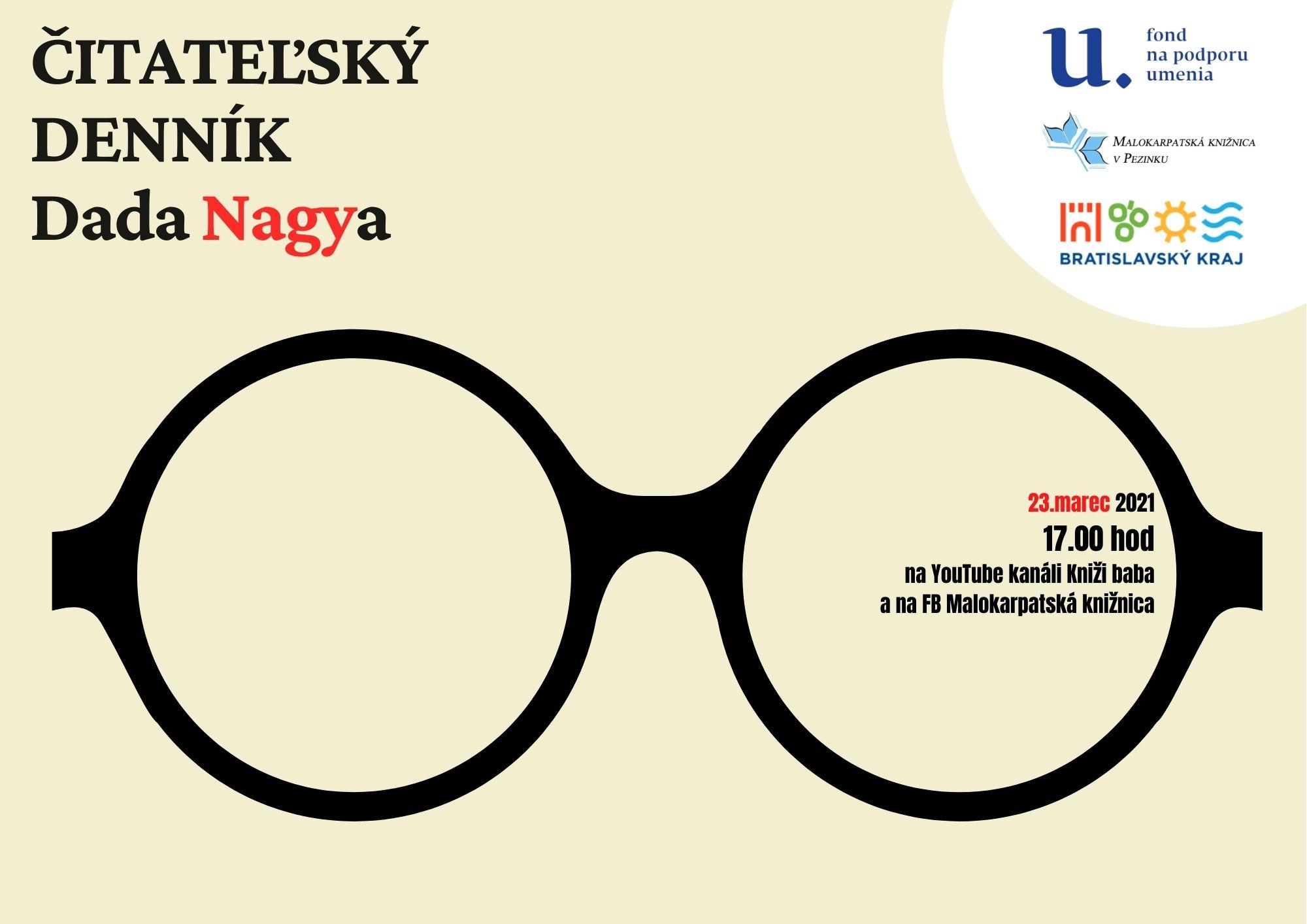 Čitateľský denník Dada Nagya