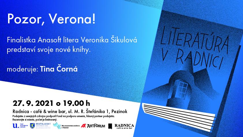 LITERATÚRA V RADNICI: Pozor, Verona!